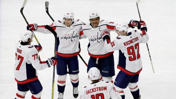 Washington Capitals' Alex Ovechkin