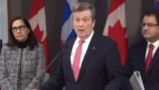 Toronto Mayor John Tory on homelessness plan