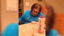 Italian grandma uses Google Home