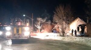 Dauphin fire