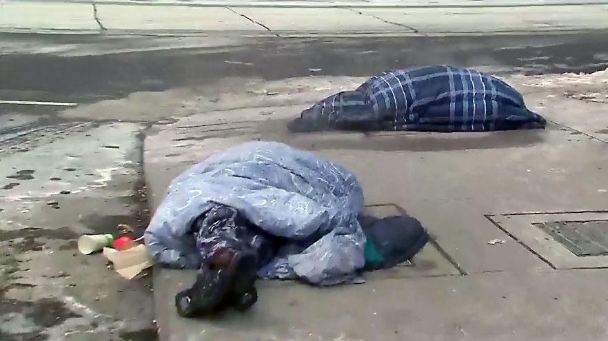 homeless crisis in Toronto
