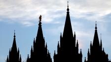 Salt Lake Temple in Salt Lake City, Utah