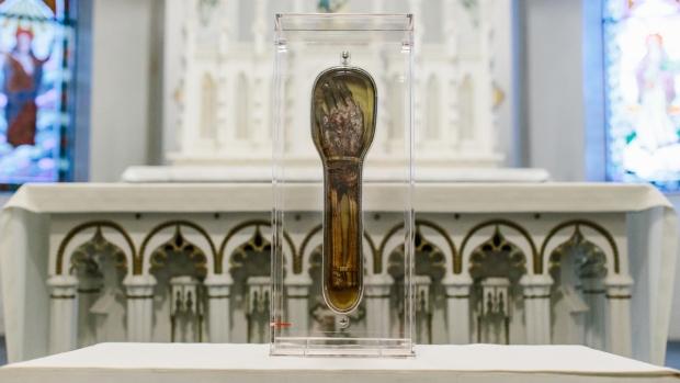 St. Francis Xavier relic