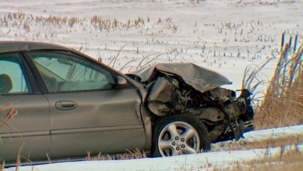 Highway 7 crash Saskatoon