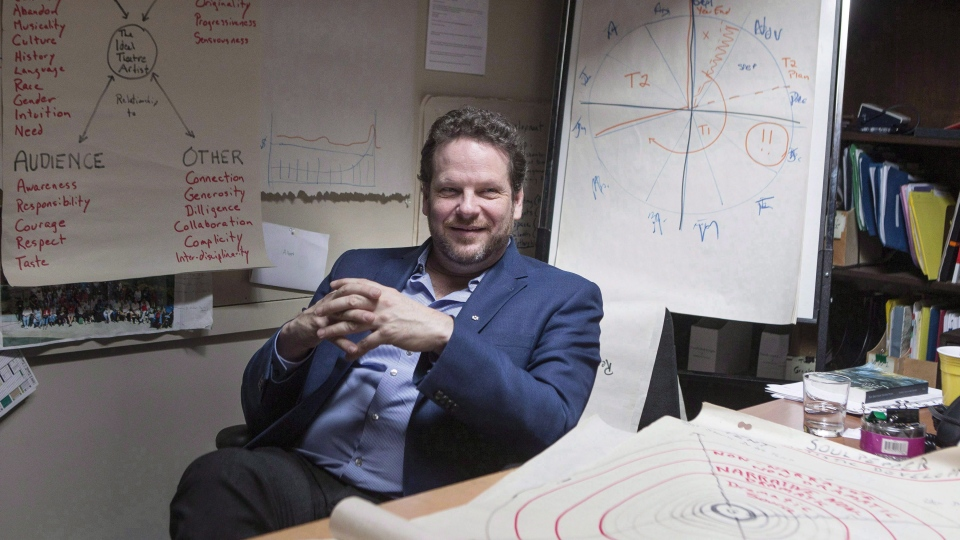 Director Albert Schultz is pictured in his office, on Monday, March 20, 2017. (THE CANADIAN PRESS/Chris Young)