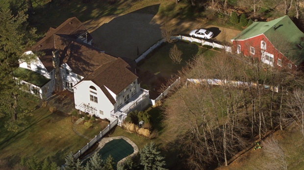 Clinton house in Chappaqua