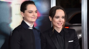 Emma Portner, left, and Ellen Page