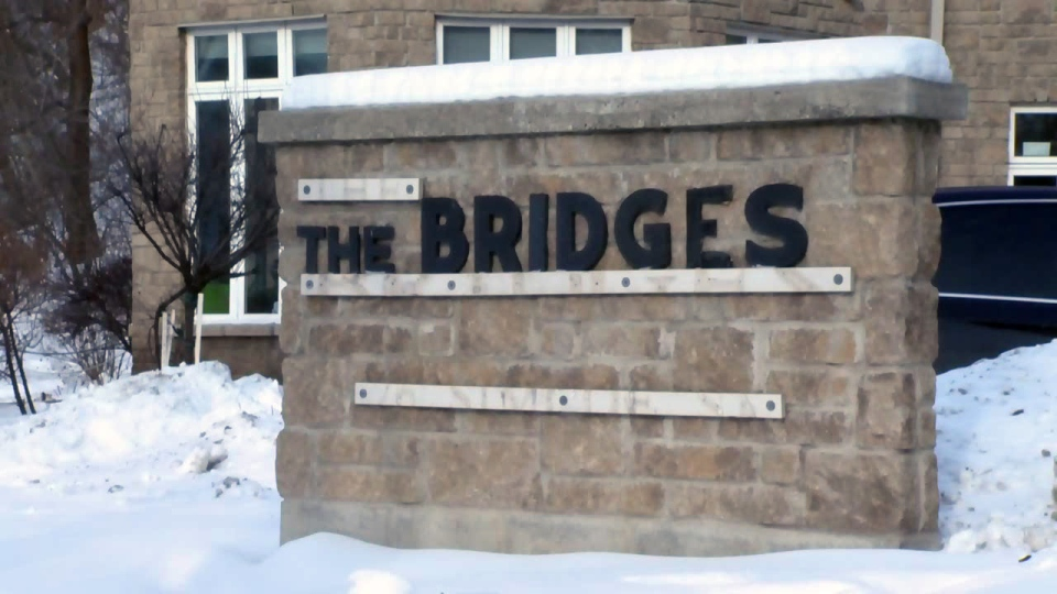 The Bridges shelter in Cambridge is pictured on Wednesday, Jan. 3, 2018.