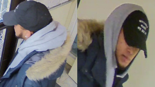 Waterloo Regional Police want to talk to this man about a home invasion on Paulander Drive in Kitchener.