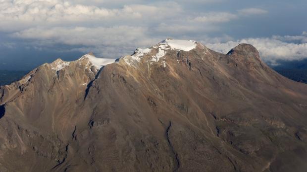 The Iztaccihuatl volcano