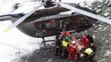 Deadly bus crash in Pasamayo, Peru