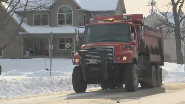 New Brunswick Public Works crews hit the roads Wednesday to prepare for another dose of winter weather.