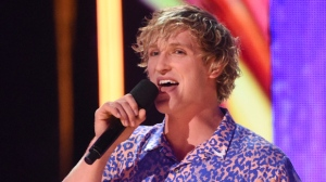 In this Aug. 13, 2017, file photo, Logan Paul introduces a performance by Kyle & Lil Yachty and Rita Ora at the Teen Choice Awards at the Galen Center in Los Angeles. (Phil McCarten/Invision/AP)