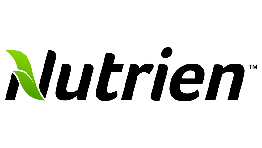 The Nutrien logo is shown in this file photo.