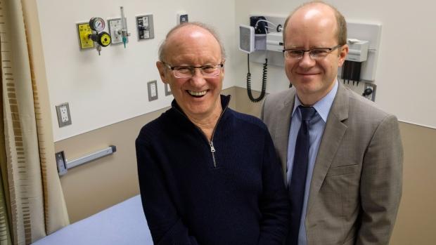 ALS patient Cliff Barr