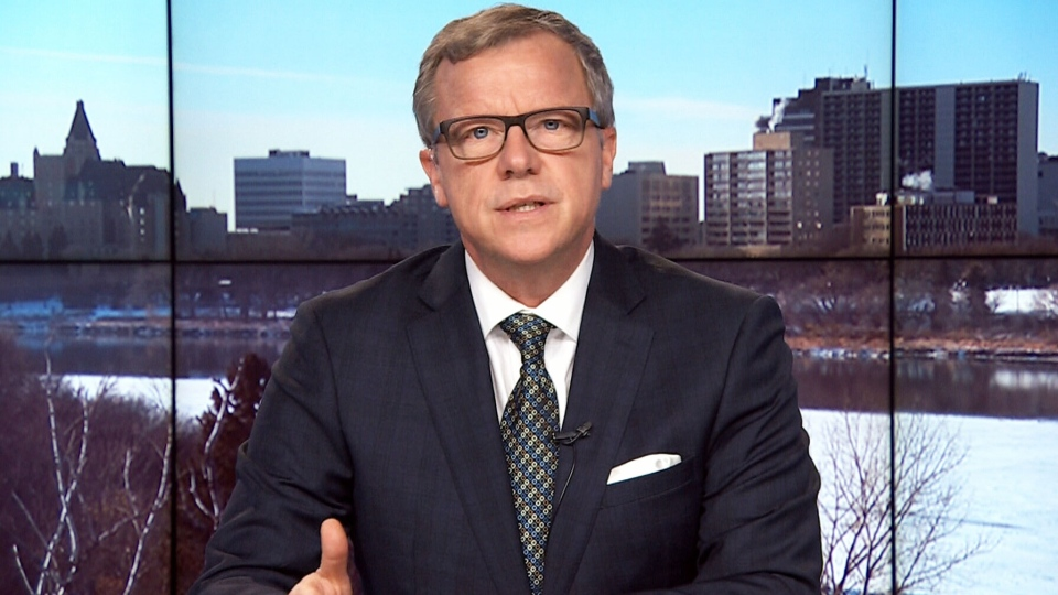 Saskatchewan Premier Brad Wall on CTV's Power Play with Don Martin.