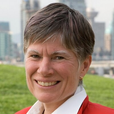 Ellen Woodsworth is the external chair and founder of Women Transforming Cities and a former Vancouver city councillor. (Twitter / @ellenwoodsworth)