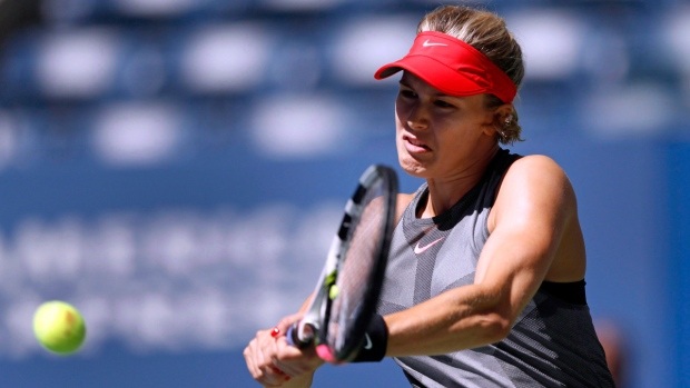 Eugenie Bouchard Suffers Buttocks Injury In Loss At Hopman Cup Ctv