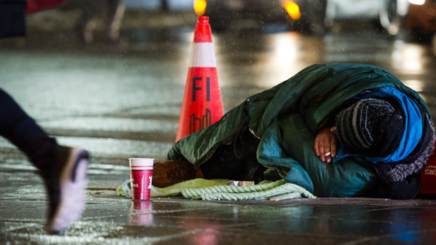 homeless, toronto