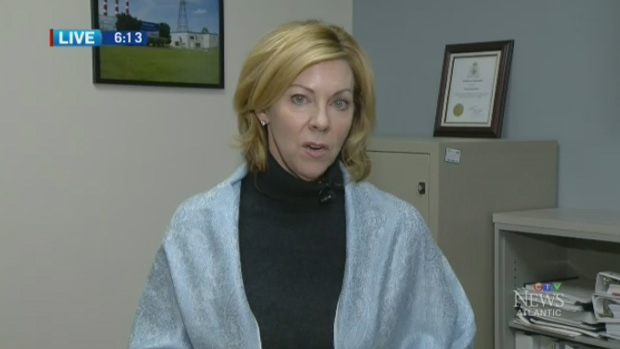 Nova Scotia Power president and CEO Karen Hutt speaks to CTV News on Friday, Jan. 5, 2018.