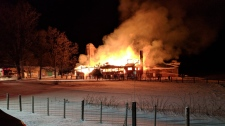 Barn fire kills almost two hundred livestock