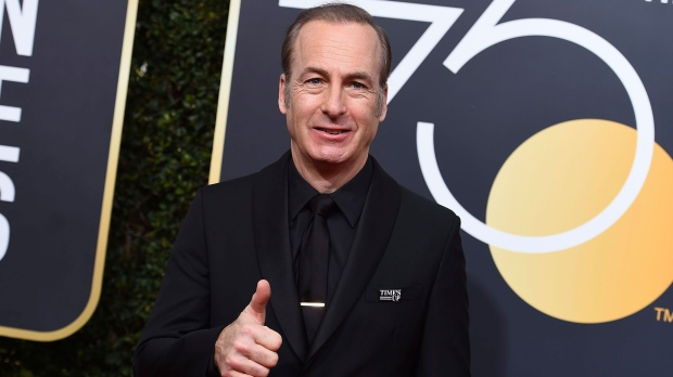 Bob Odenkirk arrives at the 75th annual GoldenGlobe Awards at the Beverly Hilton Hotel on Sunday, Jan. 7, 2018, in Beverly Hills, Calif. (Photo by Jordan Strauss/Invision/AP)