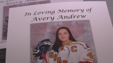 Hundreds attend funeral for Avery Andrew