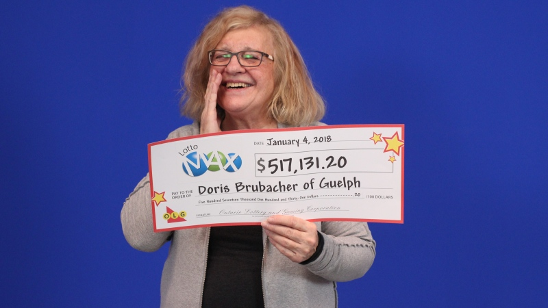 Doris Brubacher won a $517,131.20 prize on a Lotto Max ticket. (OLG)