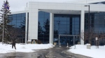 The headquarters of Waterloo Regional Police are pictured on Tuesday, Jan. 9, 2018. (David Pettitt / CTV Kitchener)