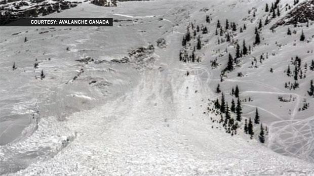 Lizard Mountain Range - avalanche