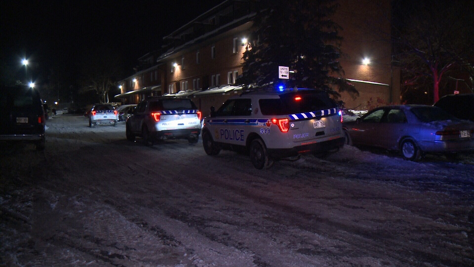 The Major Crime unit of the Ottawa Police is investigating after a man was shot to death on Paul Anka Dr. on Tuesday, Jan. 9, 2018. It's Ottawa's first homicide of 2018. (Dave Charbonneau/CTV Ottawa)