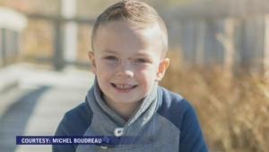 Mason John Edward Grant, 7, died in a house fire in Pubnico Head, N.S., on Sunday, Jan. 7, 2018.