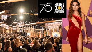 Golden Globes - blanco blanca