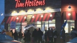 Demonstrations against Tim Hortons hit Guelph