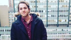 Connor Neurauter is seen in an image used on an online petition.