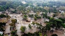 Deadly mudslide devastates California suburb
