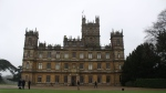 Highclere Castle, the real-life structure used for the show 'Downton Abbey,' is shown in Highclere, U.K., on Jan. 11, 2018. (Daniele Hamamdjian)