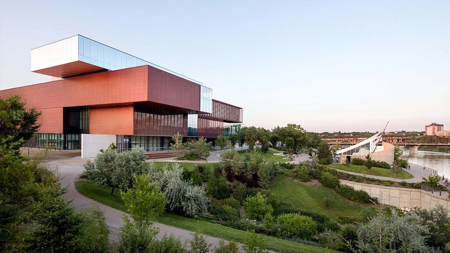 The Remai Modern art museum is shown in Saskatoon, Sask. (Remai Modern / Twitter)