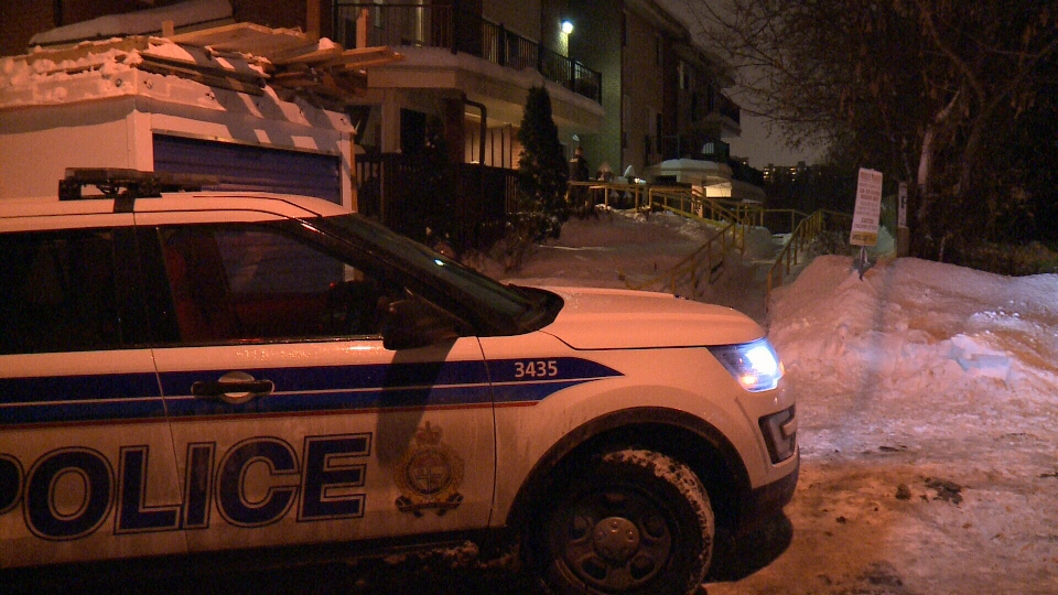 Ottawa Police are investigating after shots were fired on Claremont Drive, just off of St. Laurent Boulevard, on Wednesday, Jan. 10, 2018.