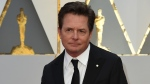 Michael J. Fox at the Academy Awards, February 2017. (© VALERIE MACON / AFP)