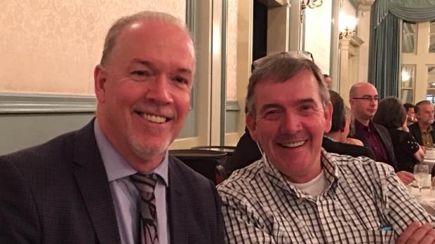 Premier John Horgan's brother dies of cancer at 71
