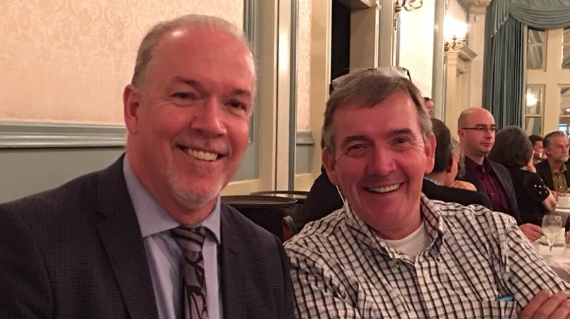 Pat Horgan succumbed to cancer over the weekend, according to a statement from the premier's office. (Facebook)