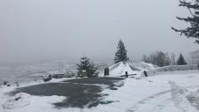 Snow in Chilliwack
