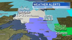Weather warnings across Northern Ontario Jan.11/18