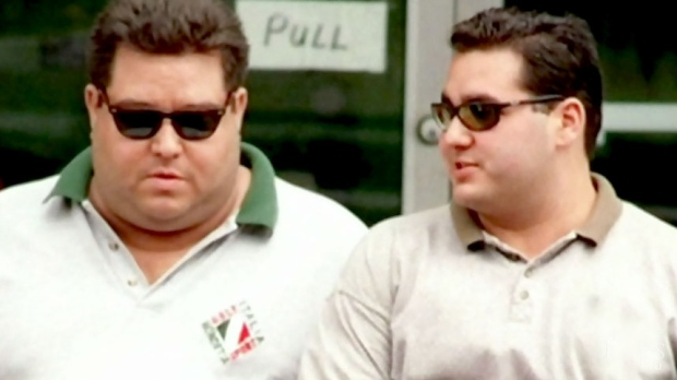 Angelo Musitano, right, was gunned down in the driveway of his Waterdown, Ont. home in May, 2017. (PHOTO: Hamilton Spectator)