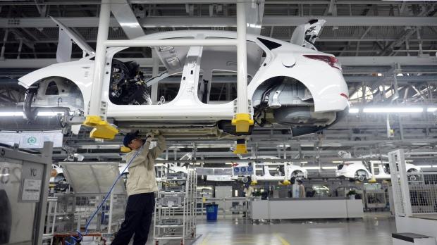 Beijing Hyundai Motor auto plant