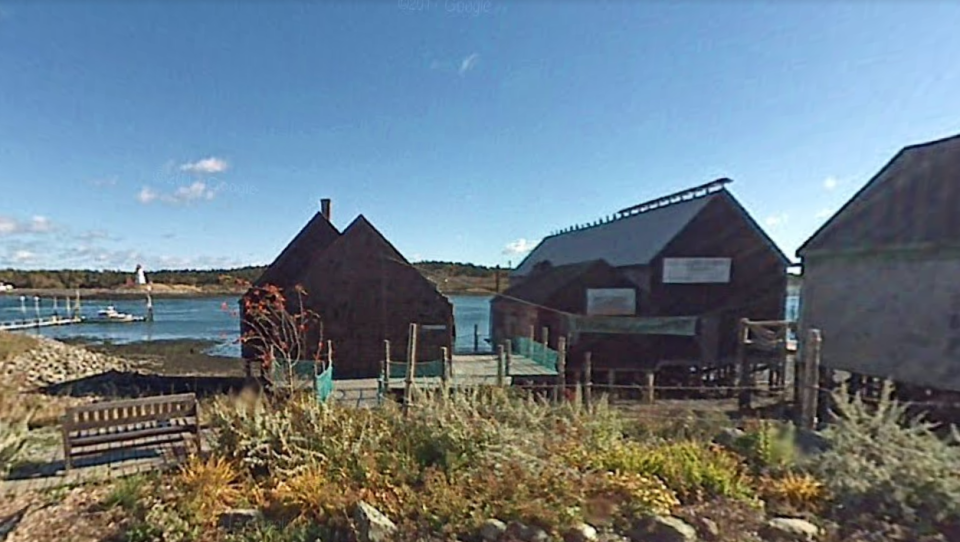 The shed is among five buildings that comprise the last traditional smoked-herring facility in the U.S. (Google Maps)