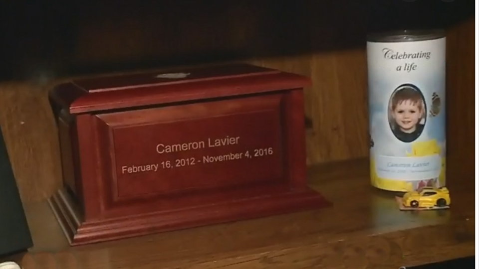 Cameron Lavier died of cancer in November, 2016.