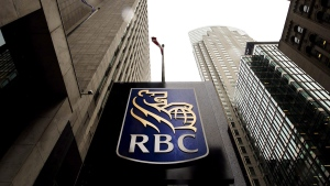 Royal Bank of Canada sign in the financial district in Toronto, in August, 2017. (Nathan Denette / THE CANADIAN PRESS)