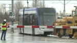 From CTV Kitchener's Daryl Morris: Light rail vehi